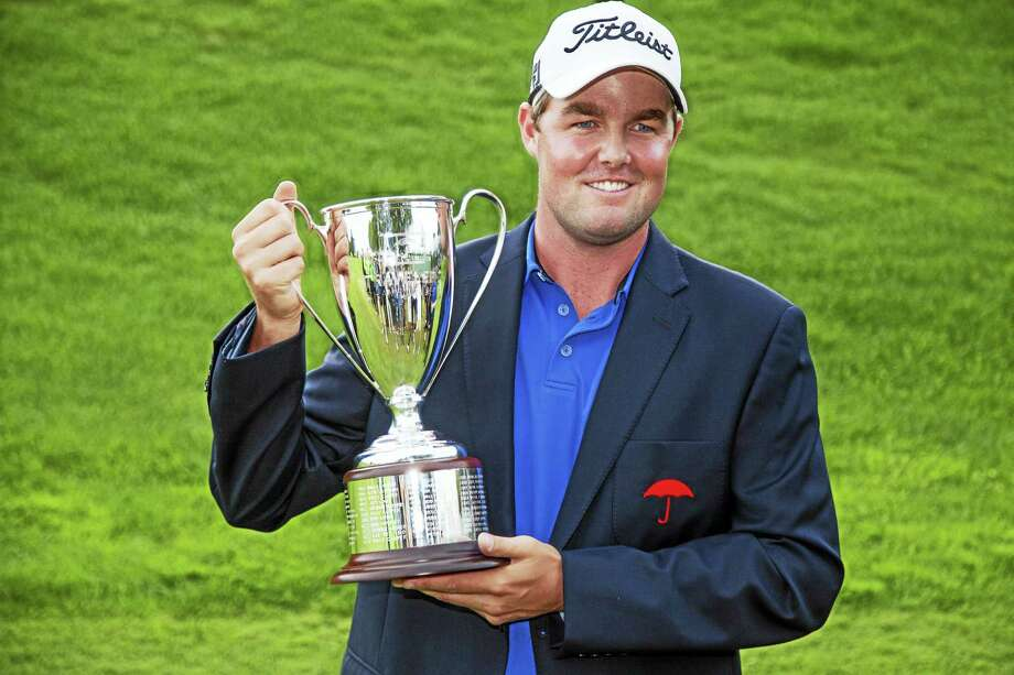(Middletown, CT.)  Chairman Gregory Shook of the Middlesex County Chamber of Commerce announced that PGA Tour Professional Marc Leishman, PGA Tour Pro and 2012 Travelers Championship winner will serve as guest speaker at the Chamber's Annual Travelers Championship Member Breakfast Meeting on Tuesday, August 2, 2016.    The Breakfast will be held at the Radisson Hotel Cromwell, 100 Berlin Road, Cromwell, with Networking beginning at 7:00 A.M., Breakfast Buffet opens at 7:45 A.M. and the Breakfast Meeting Program 8:00 to 9:00 A.M.  Cost is $22 for Chamber members and $32 for non-members.  The event is sponsored by Travelers.  For more information on Chamber events and activities, please visit www.middlesexchamber.com or call 860-347-6924. Photo: Journal Register Co.