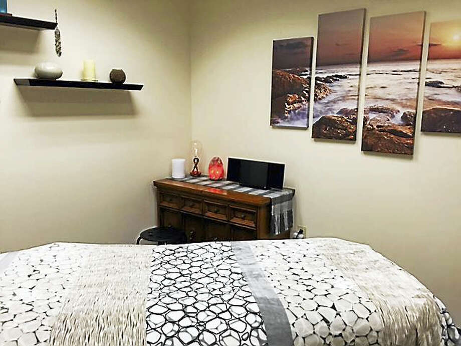 """It makes a huge difference if a patient is calm and centered,"" said advanced practice registered nurse Pat O'Brien about holistic therapies. Photo: Courtesy Pat O'Brien"