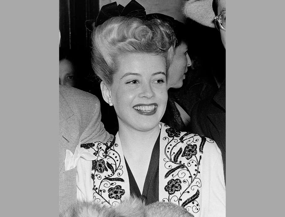 In this file photo, actress Gloria DeHaven appears in Los Angeles. Photo: The Associated Press  / Copyright 2016 The Associated Press. All rights reserved. This material may not be published, broadcast, rewritten or redistribu