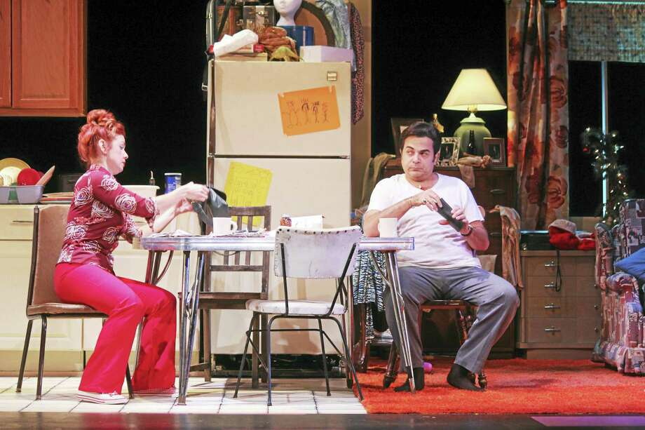 Contributed photoA scene from A Room of My Own, playing at Seven Angels Theater in Waterbury. Photo: Journal Register Co.