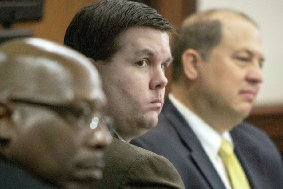 Justin Ross Harris listens to jury selection during his murder trial at the Glynn County Courthouse in Brunswick, Ga., Monday, Oct. 3, 2016. Harris charged with murder after his toddler son died two years ago while left in the back of a hot SUV. Photo: Stephen B. Morton/Atlanta Journal-Constitution Via AP, Pool   / Atlanta Journal-Constitution Pool