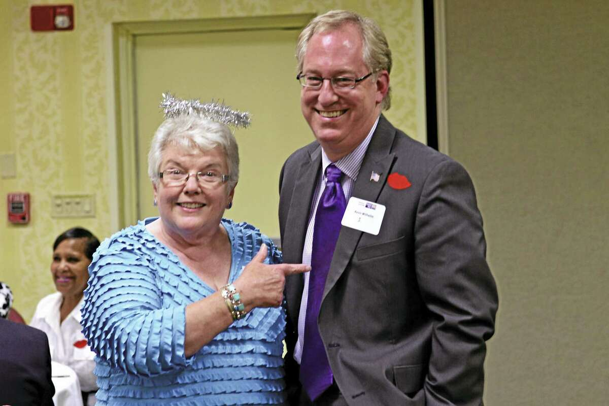 """Patti Anne Vassia, left, former executive director of Middlesex United Way, will be the """"Roast mistress"""" at the roast of Executive Director Kevin Wilhelm on Oct. 13 for his 25th anniversary."""