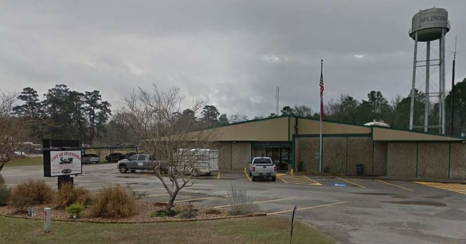 Splendora city hall is seen from Google Streetview Photo: Google Maps