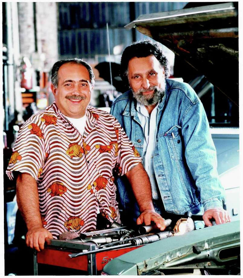 "Tom, left, and Ray Magliozzi, aka Click and Clack of NPR's ""Car Talk"" in an undated file photo. Photo: /"