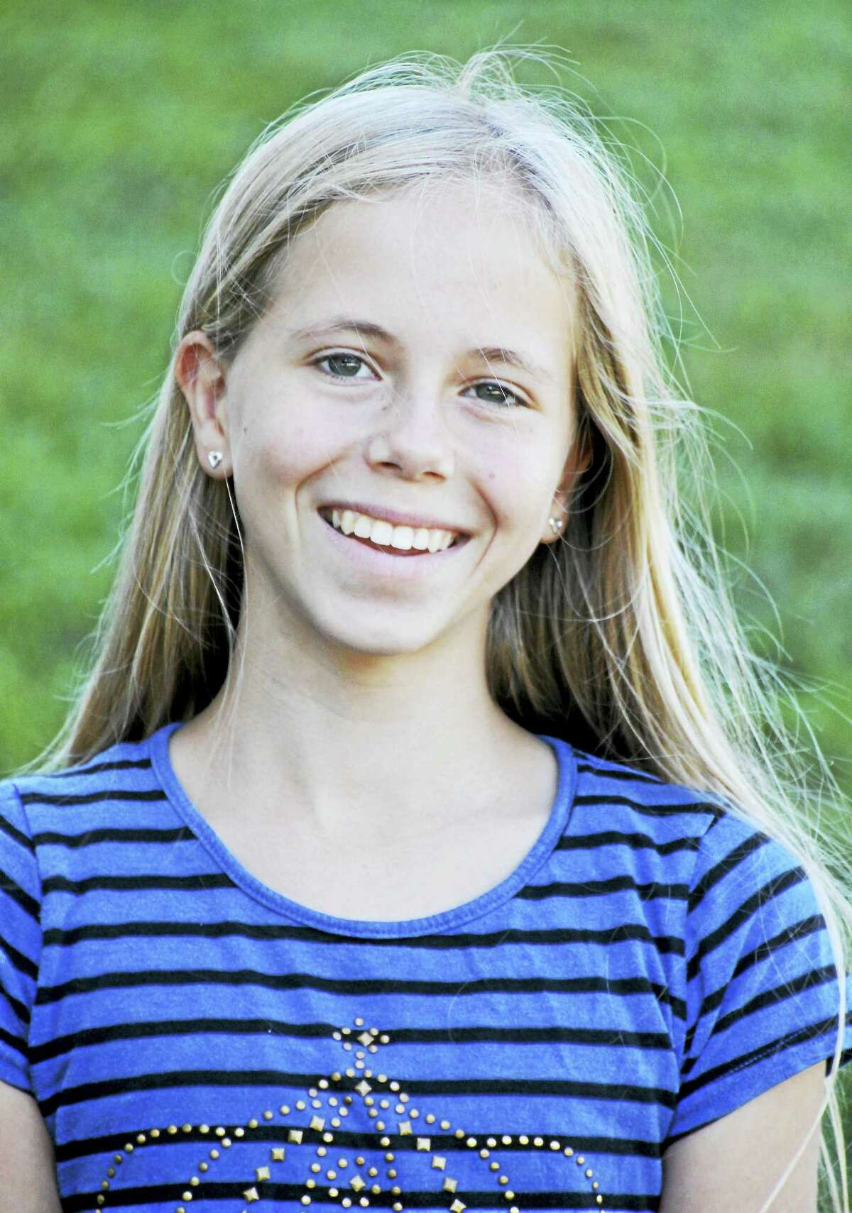 """Contributed photoMiddlefield, CT: Katie Gendrich of Middletown and a sixth grader at The Independent Day School in Middlefield has been notified by the National Geographic Society that is one of the semifinalists eligible to compete in the 2016 Connecticut National Geographic State Bee. The contest will be held on Friday, April 1, 2016. Katie said, """"I'm thrilled to be a participant. I've always had natural curiosity of places and countries and the world we live in.""""This is the second level of the National Geographic Bee competition, which is now in its 28th year. School Bees were held in schools with fourth through eighth grade students throughout the state to determine each school champion. School champions then took an online qualifying test."""