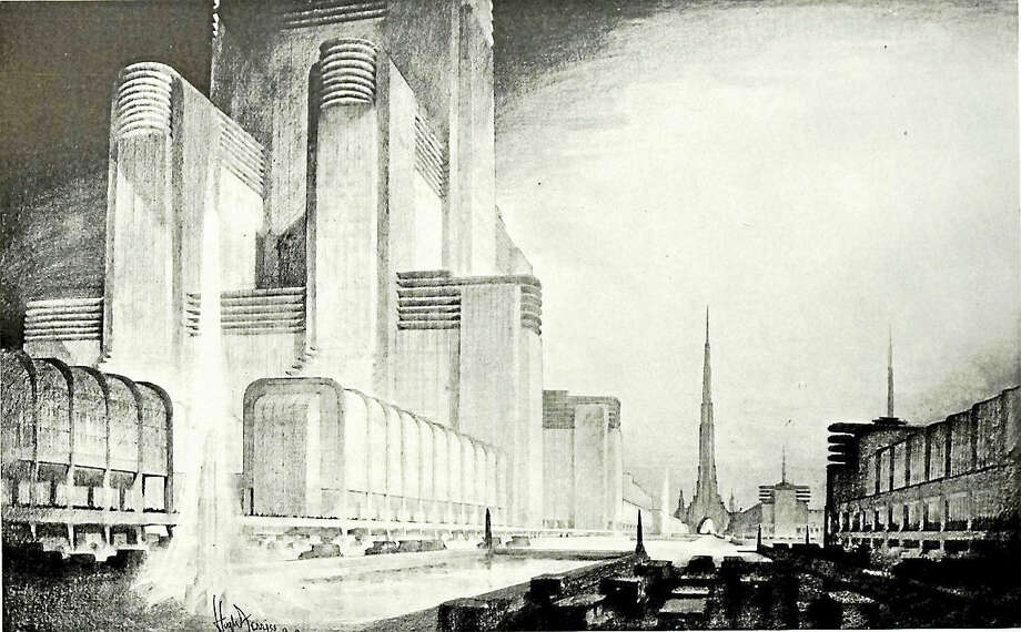"The Centerbrook Architects Lecture Series Presents ""The Vision & Architectural Designs of Hugh Ferriss and Lee Lawrie"" with Architectural Historian Dr. Chuck Benson. Learn more about these influential designers in an illustrated talk by Dr. Chuck Benson on Friday, March 18th at 7 p.m. at the Essex Town Hall. This Essex Library program is free and open to the public. The Essex Town Hall is located at 29 West Avenue in Essex. Please call the Essex Library at (860) 767-1560 for more information or to register. Photo: Journal Register Co."