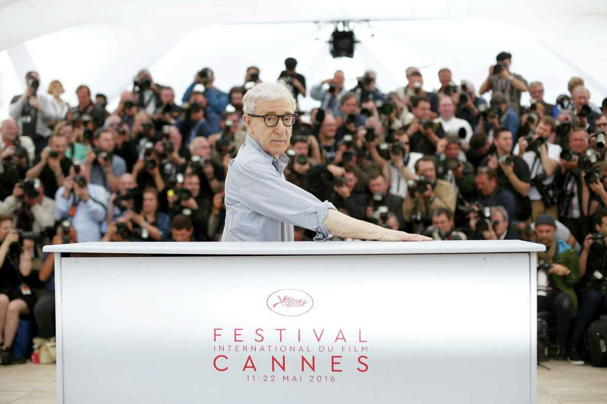 Director Woody Allen poses for photographers during a photo call for the film Cafe Society, at the 69th international film festival, Cannes, southern France on May 11, 2016.