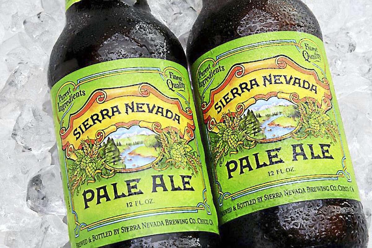 Sierra Nevada Pale Ale. (photo courtesy of Getty Images via Graphiq)