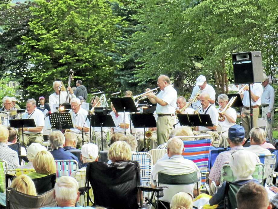 Contributed photo Enjoy the sounds of swing and standards from the Great American Songbook as The Big Band with Bob Hughes performs at a free concert on the Essex Green on Saturday, July 30. Photo: Journal Register Co.