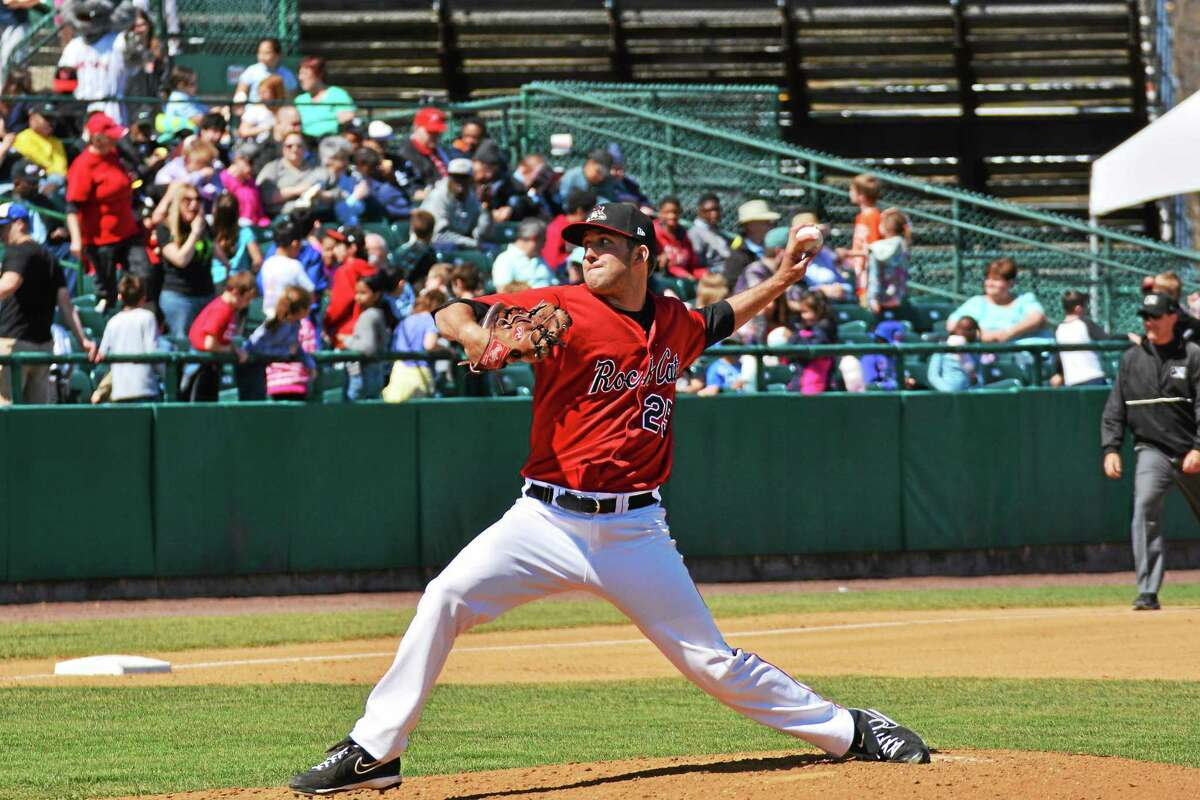 Naugatuck's Pat Dean is looking to rebound after a couple shaky starts for the New Britain Rock Cats.