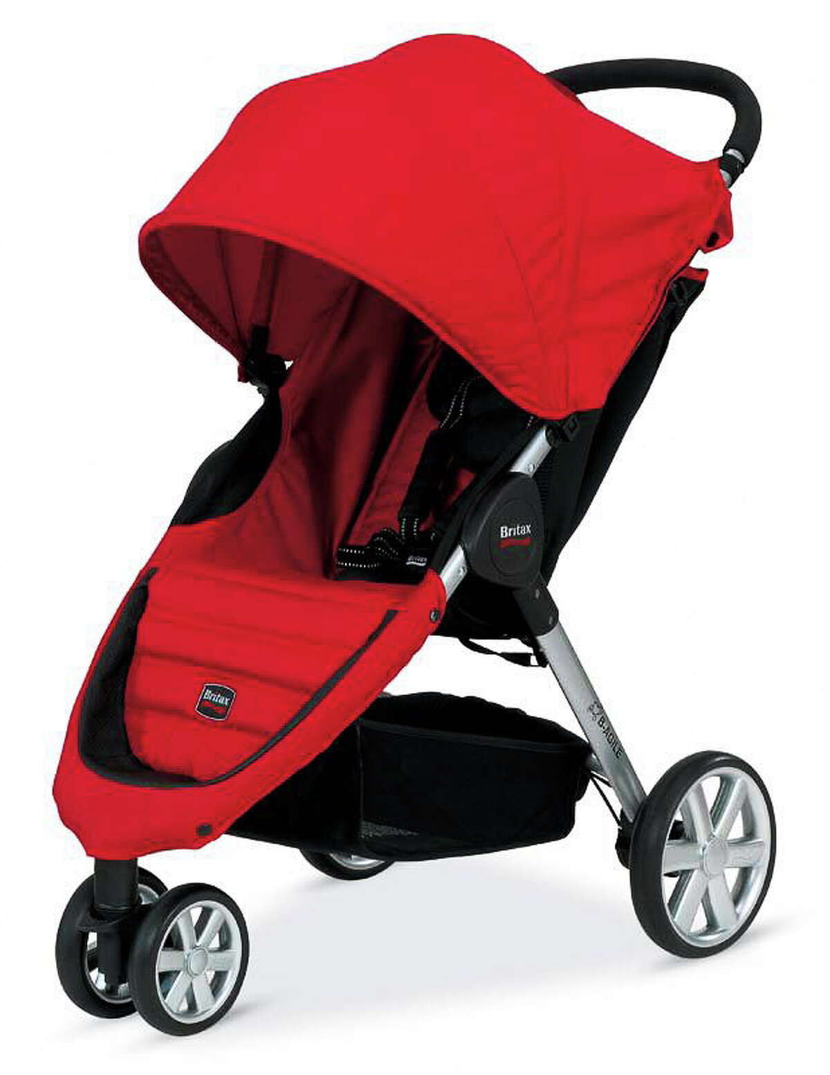 A Large B-Agile stroller by Britax, one of the recalled models.