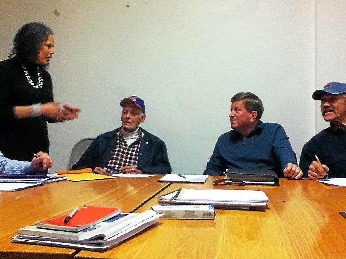 Since 2011, a small group of military veterans meets weekly at the Russell Library in Middletown. Together, theyíve formed the Veteran's Writing Group, led by Middletown author Elisabeth Petry.