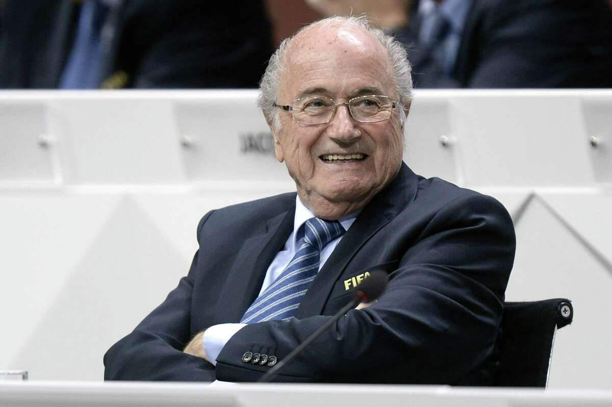 FIFA president Sepp Blatter was re-elected as FIFA president Friday at the 65th FIFA Congress held at the Hallenstadion in Zurich, Switzerland.