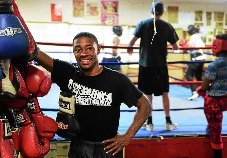 "New Haven boxer Tramaine Williams will fight in the main event on Saturday night's ""Danbury Fight Night"" card at the Danbury Arena. Photo: Peter Hvizdak — Register File Photo  / ©2015 Peter Hvizdak"