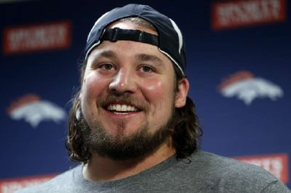 Denver Broncos guard Zane Beadles has emerged as a leader for Denver's offensive line.
