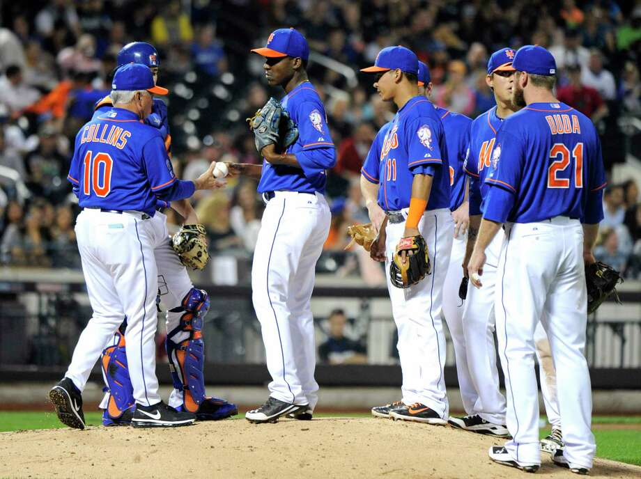 The Mets (79-83) wrapped up their sixth straight losing season Sunday, but have high hopes for 2015. Photo: Bill Kostroun — The Associated Press  / FR51951 AP