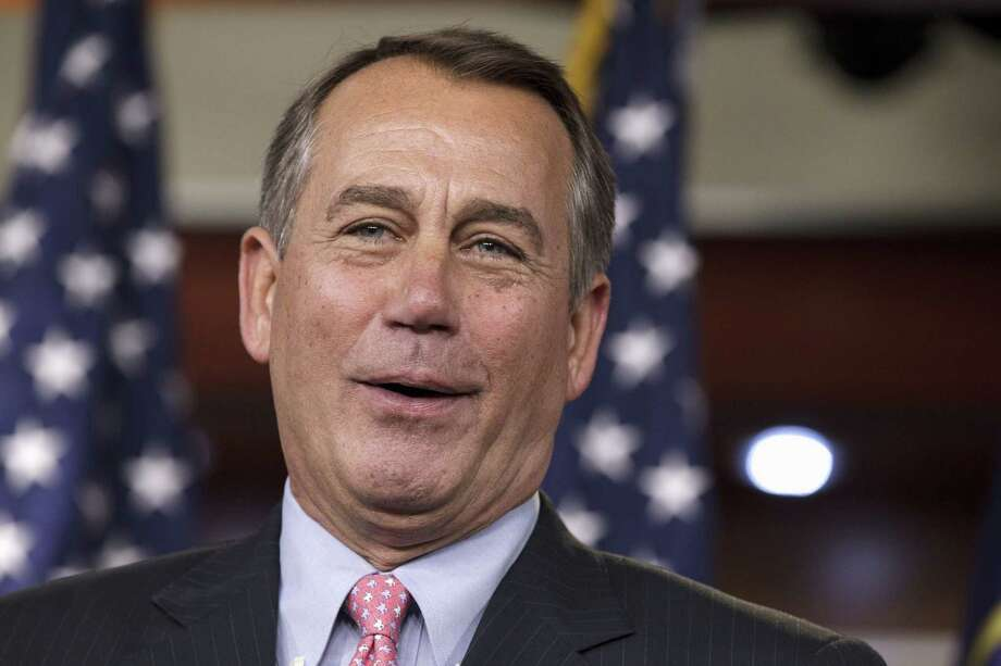 House Speaker John Boehner is seen in this 2012 file photo. Photo: AP File Photo  / AP