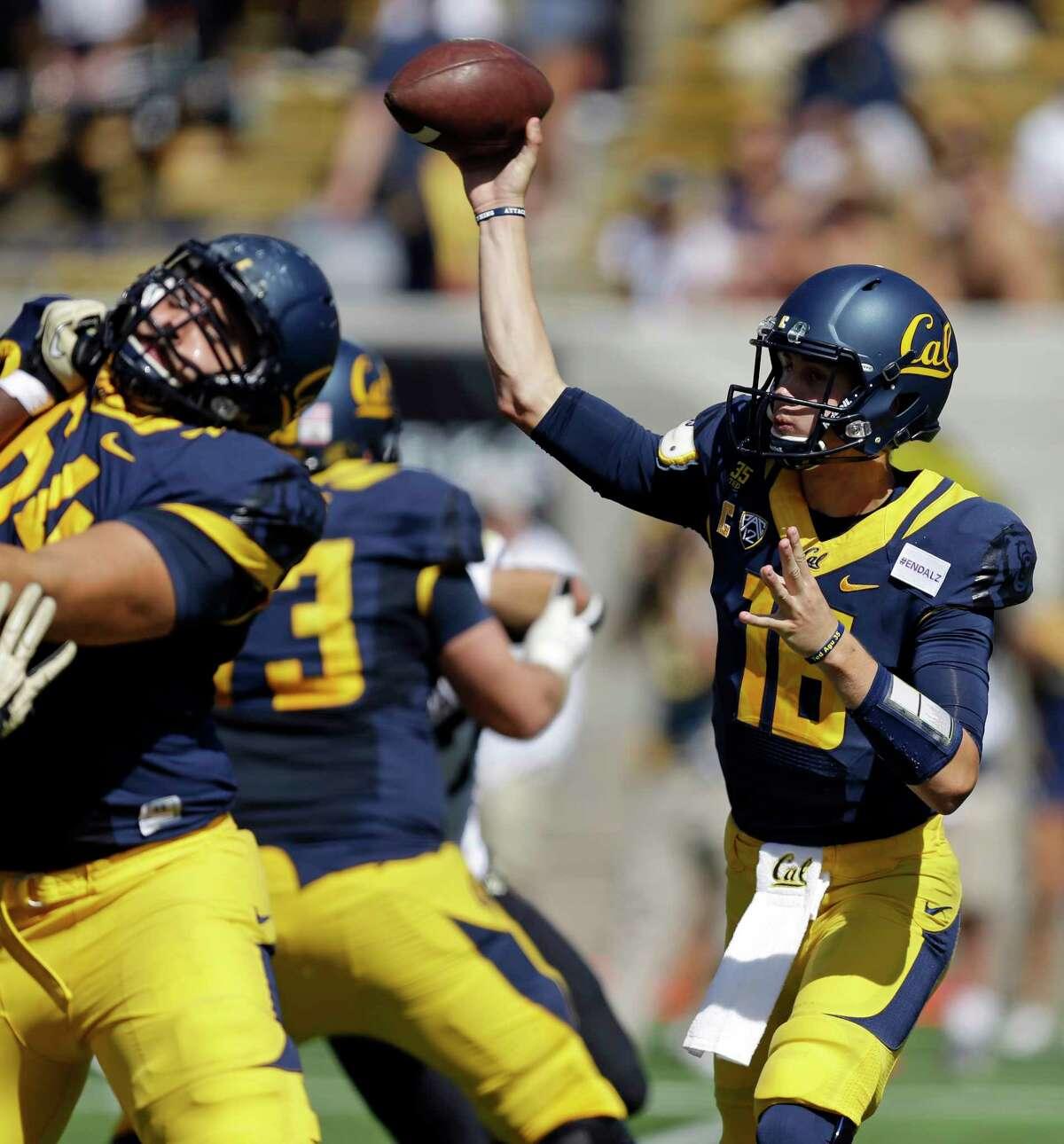 California quarterback Jared Goff.