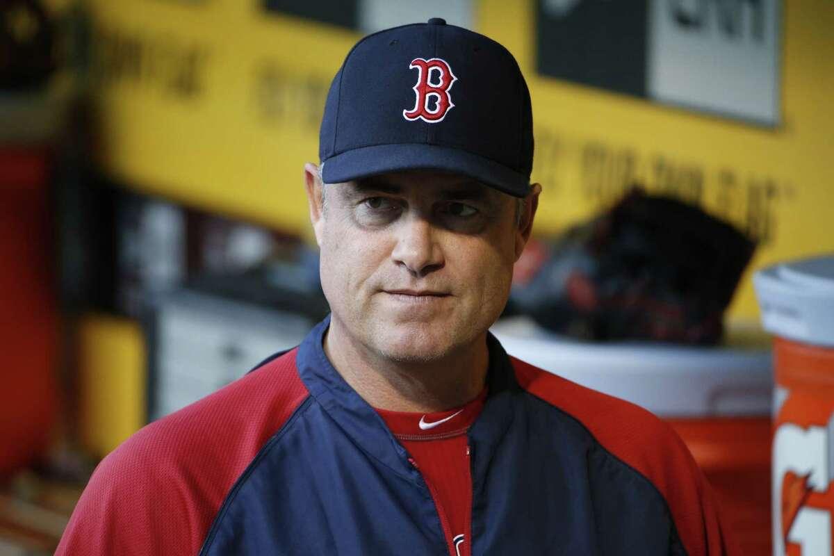 Red Sox manager John Farrell.