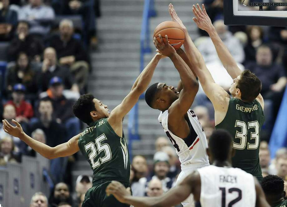 Rodney Purvis and UConn need a win over Cincinnati Thursday night to strengthen their shot at an at-large bid to the NCAA tournament if the Huskies fail to win the AAC tourney. Photo: Jessica Hill — The Associated Press  / FR125654 AP