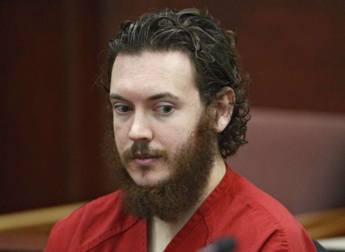 FILE - In this June 4, 2013, file photo Aurora theater shooting suspect James Holmes appears in court in Centennial, Colo. Prosecutors in the Colorado theater shooting trial say they are moving closer toward the heart of their case: whether Holmes was legally insane when he committed one of the worst mass shootings in U.S. history. (Andy Cross/The Denver Post via AP, Pool, File)