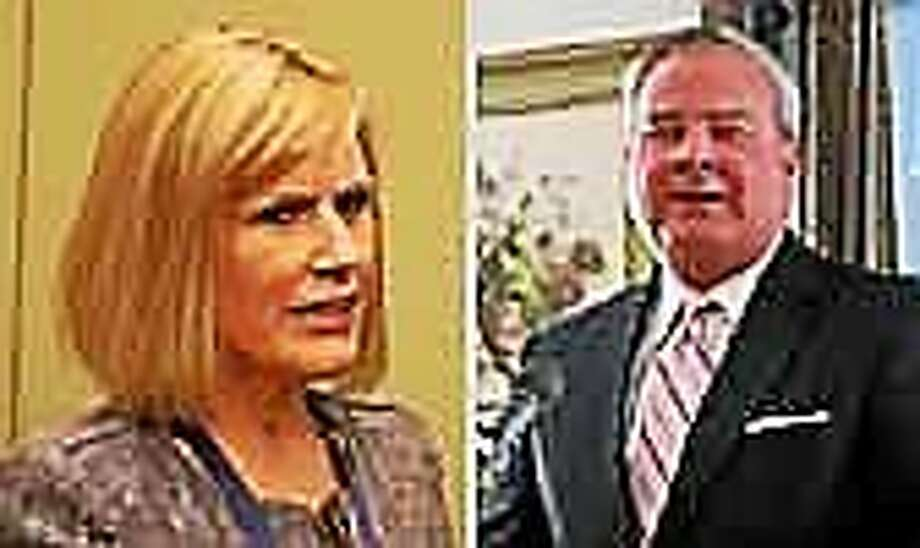 Wilson-Foley, left, and Rowland Photo: CTNJ File Photo