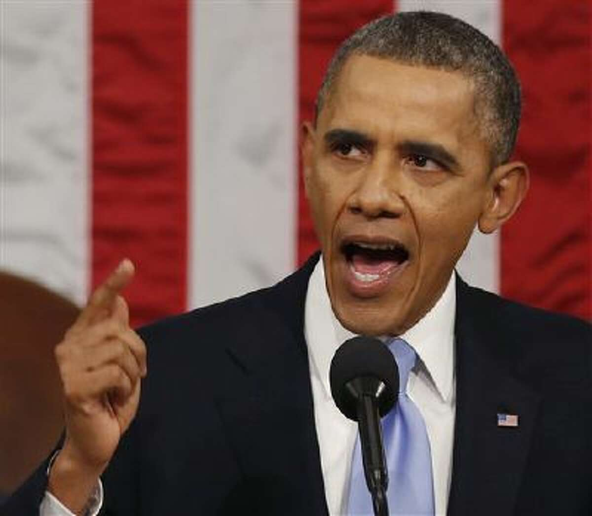 President Barack Obama delivers the State of Union address Tuesday night.