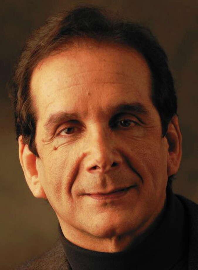 Charles Krauthammer Photo: Journal Register Co.