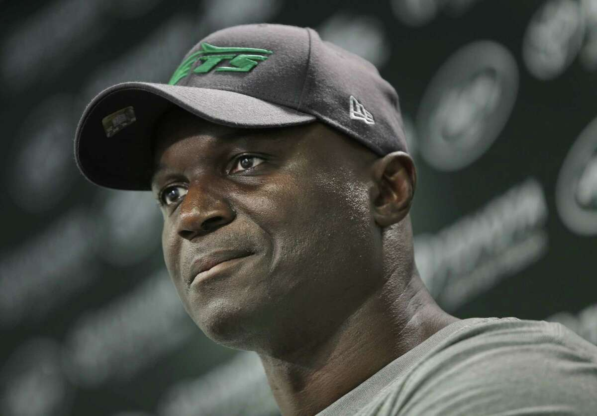 New York Jets head coach Todd Bowles speaks to reporters after an organized team activity on Wednesday in Florham Park, N.J.