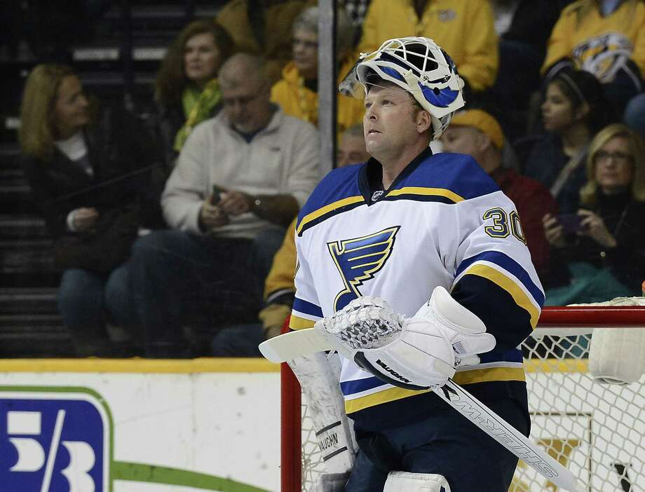 Martin Brodeur, one of the greatest goaltenders in NHL history, is retiring. He starred for years with the New Jersey Devils. Photo: Mark Zaleski — The Associated Press File Photo  / FR170793 AP
