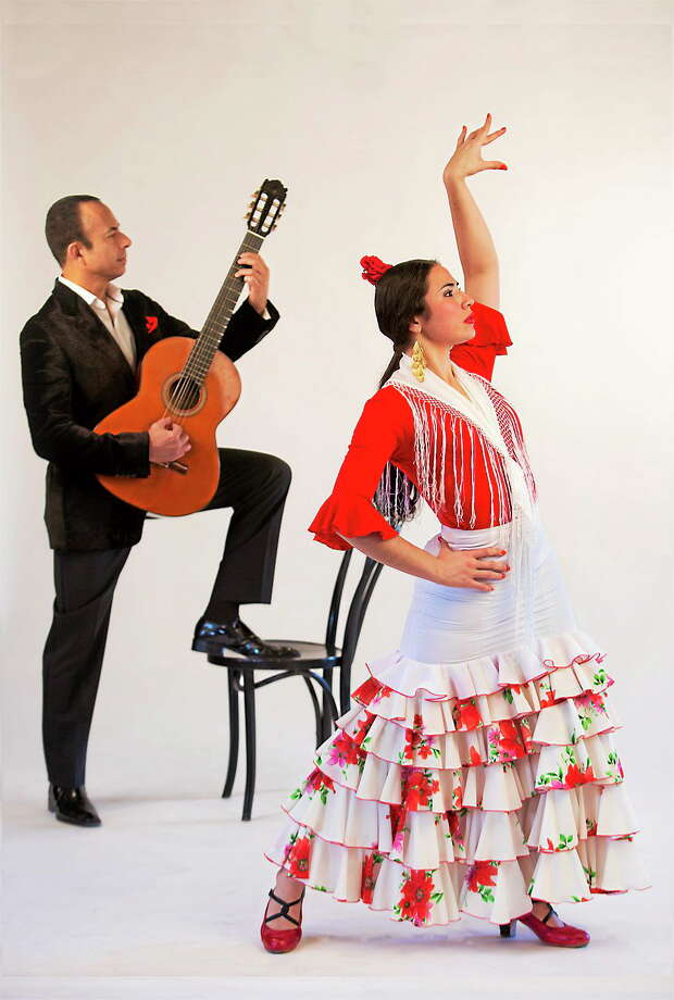 Submitted photo - University of Saint Joseph Romantic guitar music and flamenco dancing will be featured at an annual program on Valentine's Day at the University of Saint Joseph. Photo: Journal Register Co. / Laschphoto