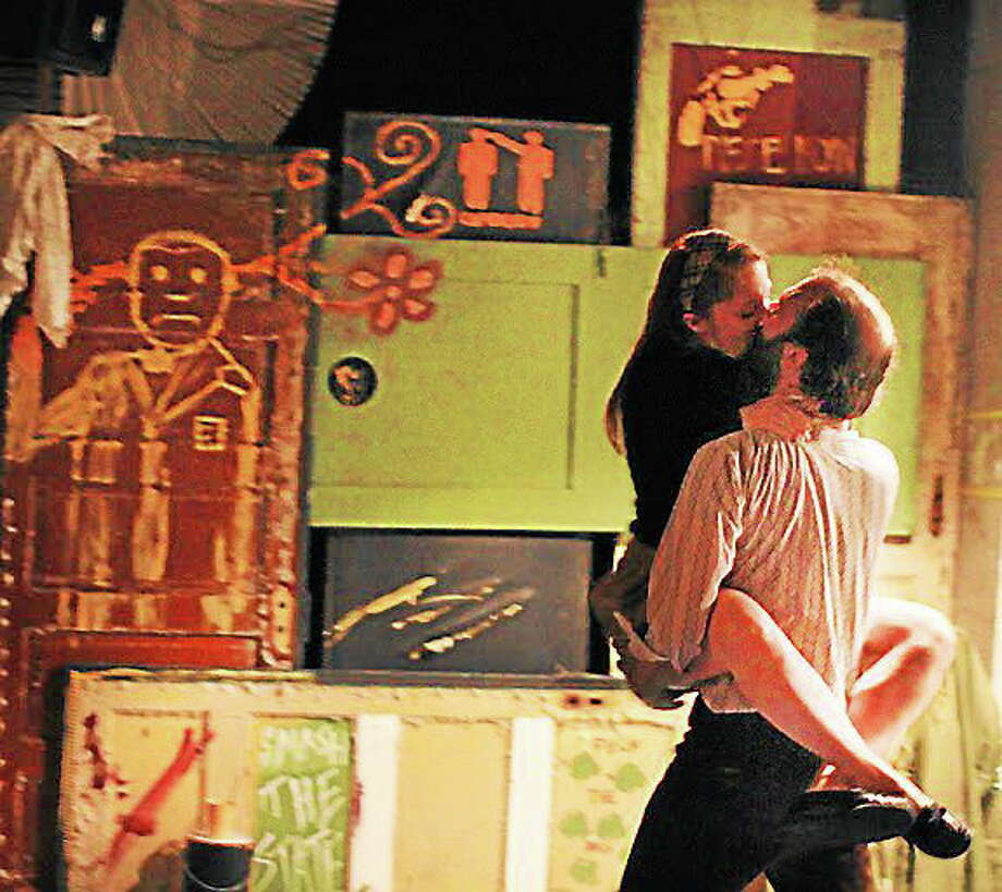 A scene from Home/Sick, which is making its New England premiere at the Center for Fine Arts at Wesleyan. Photo: Journal Register Co.