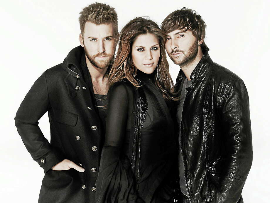 "Submitted photo - Lady Antebellum Lady Antebellum will perform ""live"" in concert at the Mohegan Sun Arena on Saturday night Feb. 1. Photo: Journal Register Co."