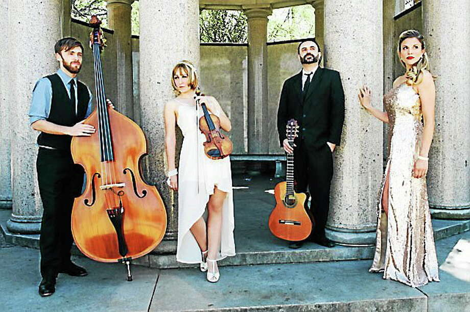 Submitted photo - The Bianco Martinis The Bianco Martinis will perform at the next Concert in the Garden at the Leif Nilsson Studio & Gallery in Chester June 19. Photo: Journal Register Co.