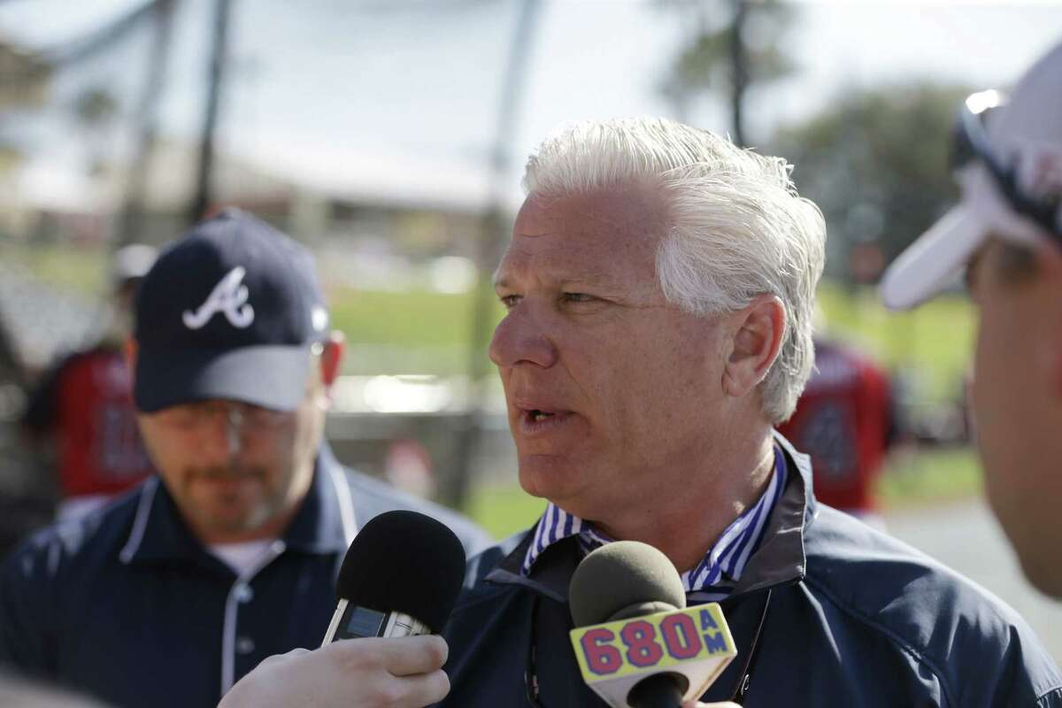 Frank Wren was hired as senior vice president of baseball operations by the Red Sox on Friday.