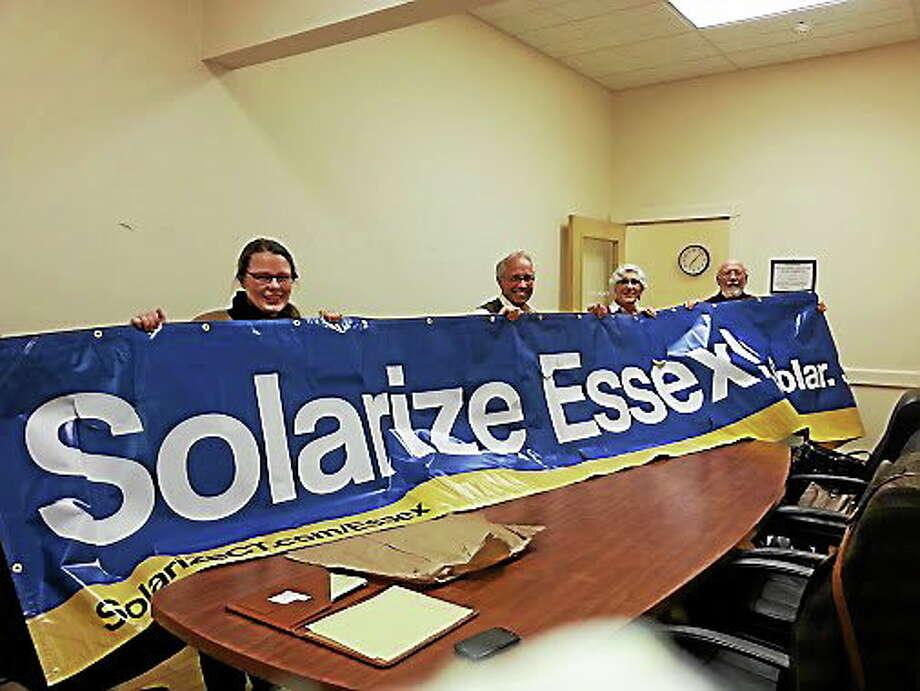 Solarize Connecticut Solarize Essex volunteers Photo: Journal Register Co.