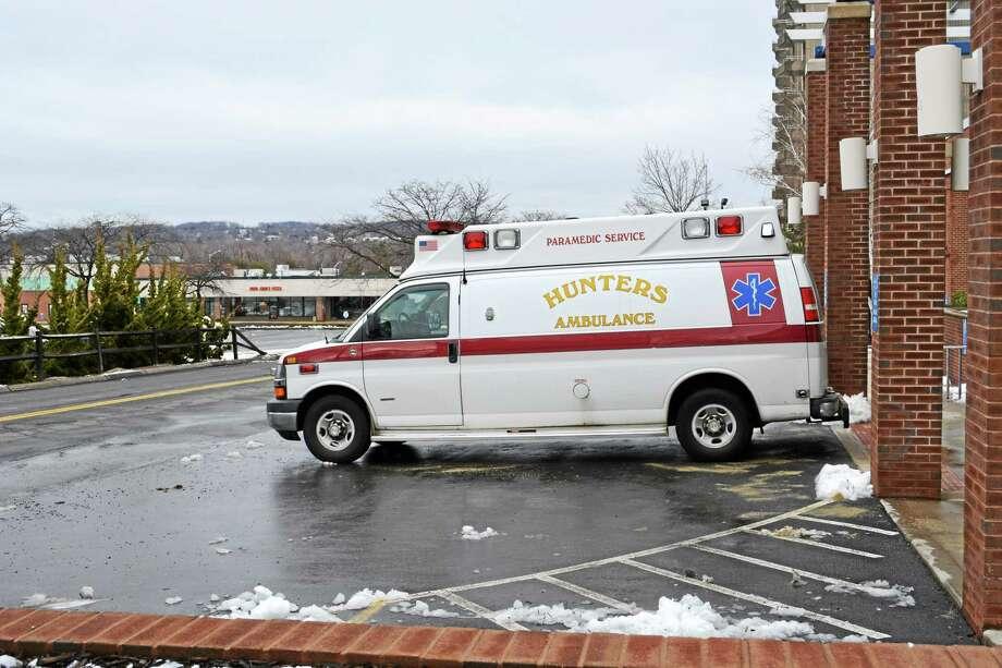 Hunters Ambulance Photo: Cassandra Day — The Middletown Press