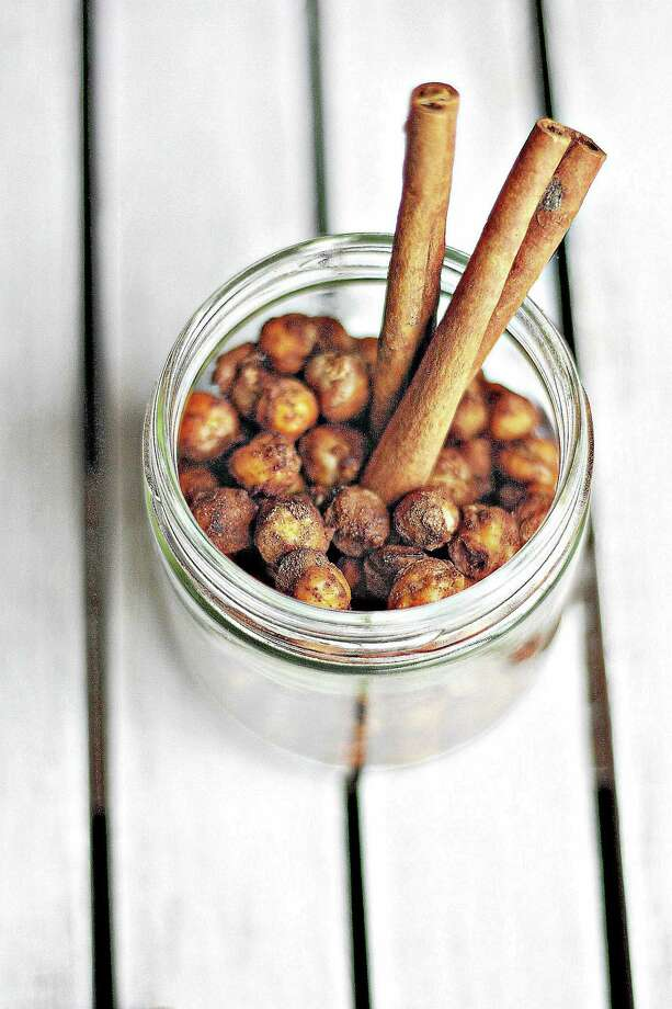 Submitted photo.  Cinnamon sugar roasted chick peas. Photo: Journal Register Co.