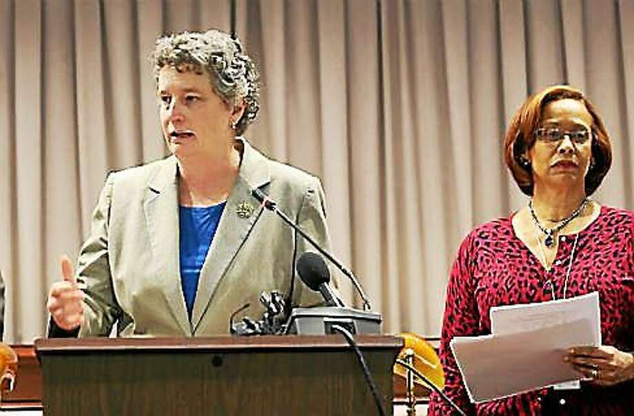 Sen. Beth Bye and Rep. Toni Walker. Photo: Christine Stuart -— CTNewsJunkie File Photo