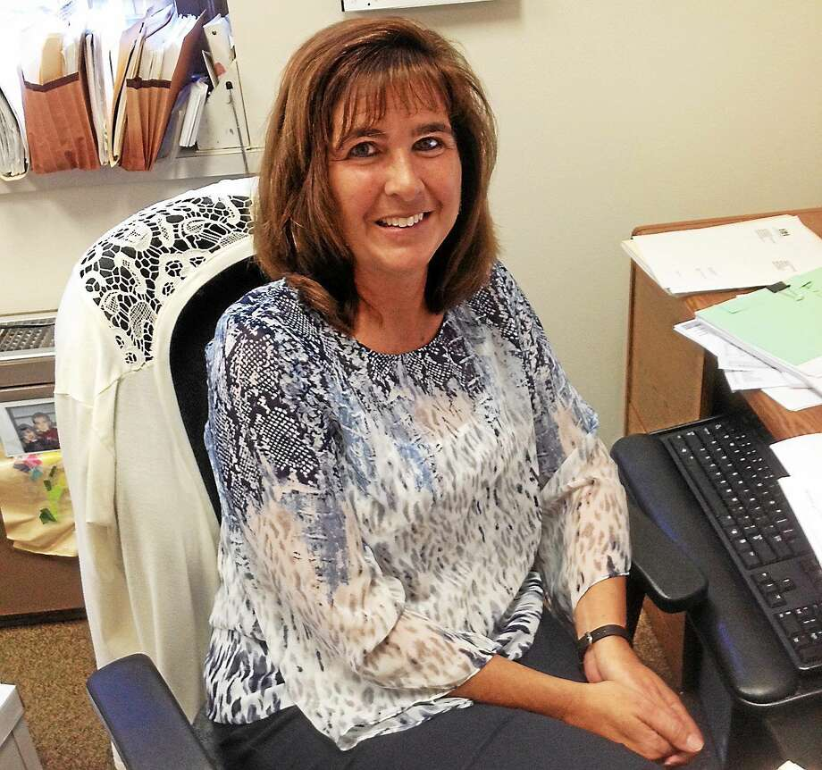 Janet Murphy, town accountant in Cromwell, is leaving town to take a job in Clinton as the finance director. Photo: Photo By Jeff Mill