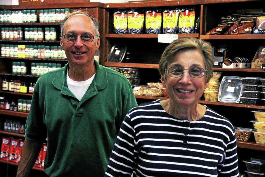 Ted and Mary Xenelis have been a main Street fixture for decades. The couple will work their last shift at the store on Saturday and head into retirement. A sale of the store is currently under negotiation. Photo: Kathleen Schassler — The Middletown Press   / Kathleen Schassler All Rights