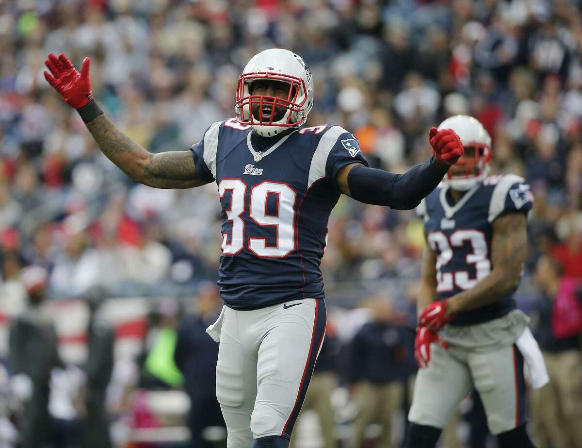 New England Patriots cornerback Brandon Browner got a Super Bowl ring without playing in the game for Seattle last season.
