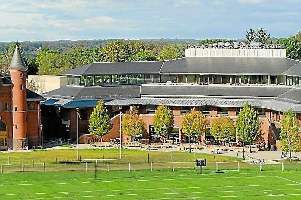 The Wesleyan University campus in Middletown.