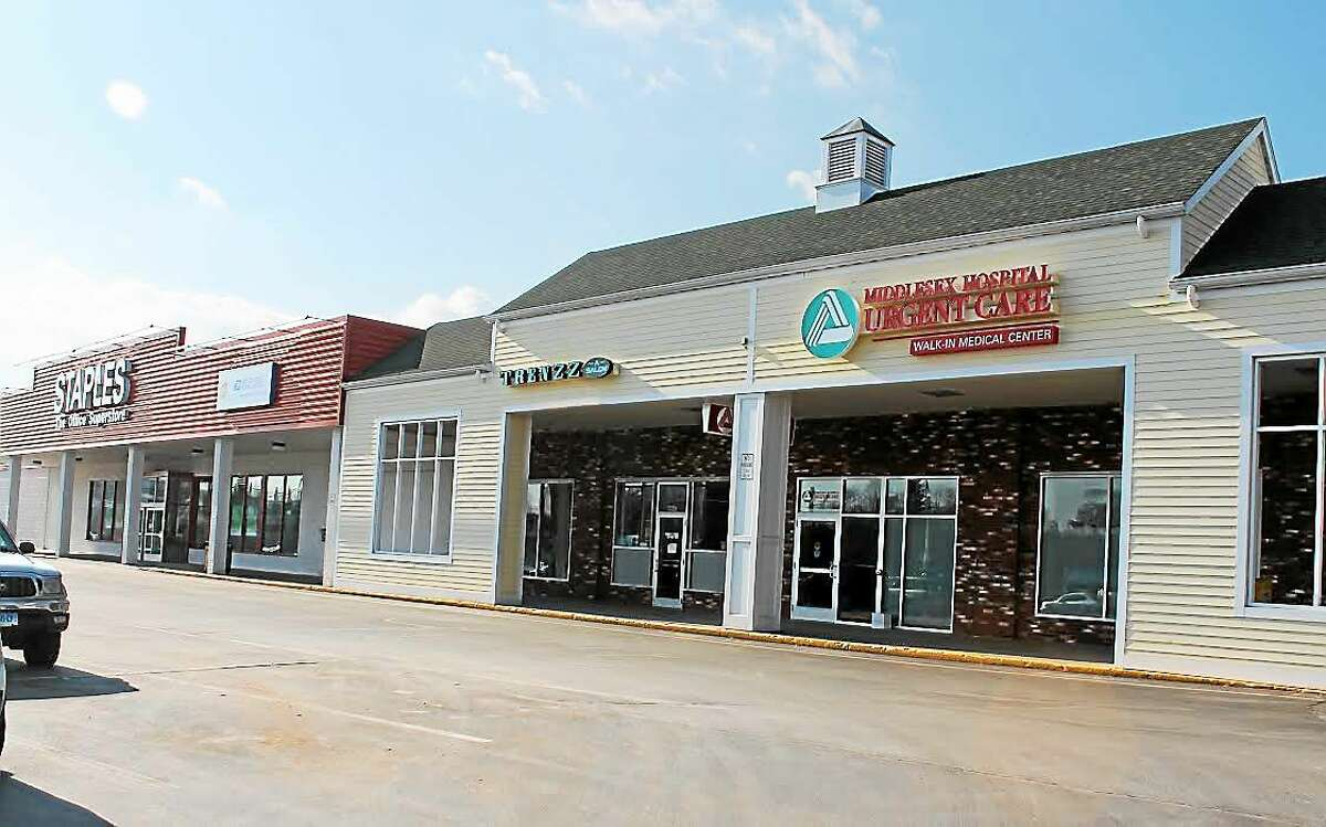 Middlesex Hospital's new Urgent Care Center is located next to Staples in Middletown in the Washington Street plaza.