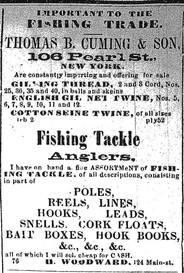 An advertisement from the The Constitution newspaper, Sept. 21, 1864. Photo: Courtesy Photo