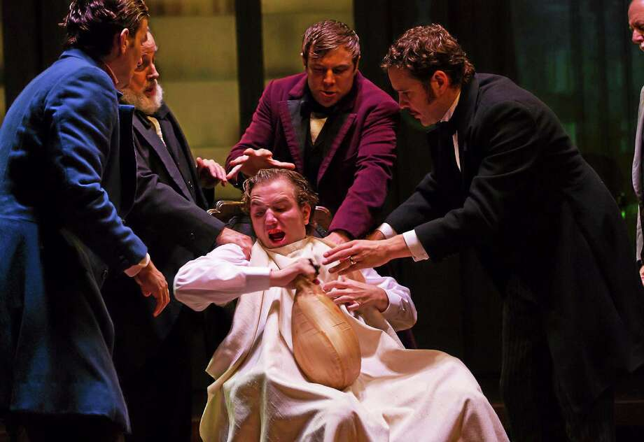 """Photo courtesy of Hartford Stage """"The Ether Dome"""" explores the early days of anesthesia. The play is being performed at Hartford Stage through Oct. 5. Photo: Journal Register Co."""