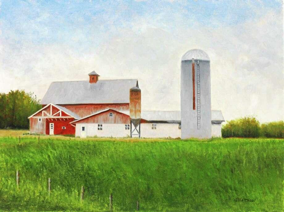 "Watson's ""The Farm."" Photo: Journal Register Co."