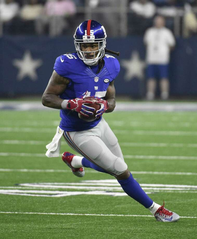 The New York Giants released wide receiver Preston Parker. Photo: Michael Ainsworth — The Associated Press  / FR171389 AP