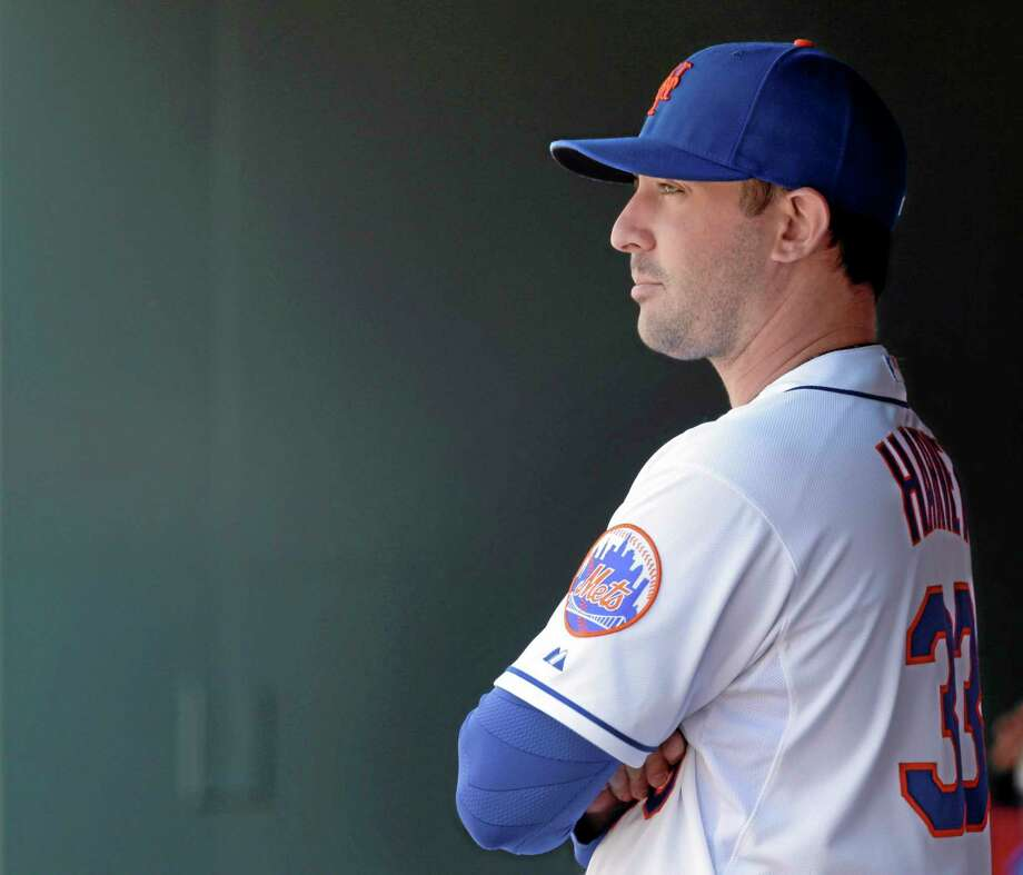 New York Mets starting pitcher Matt Harvey wants to return to the mound this season. Photo: Seth Wenig — The Associated Press File Photo  / AP