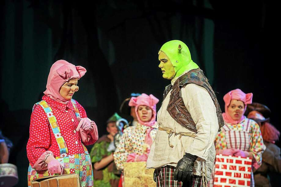 """Contributed photos The Middletown Stage Company will perrform """"Shrek The Musical"""" Friday, Saturday and Sunday this weekend. Saturday's tickets can be used on Sunday if the weather is inclement. Photo: Journal Register Co. / Copyright Langdon Family"""